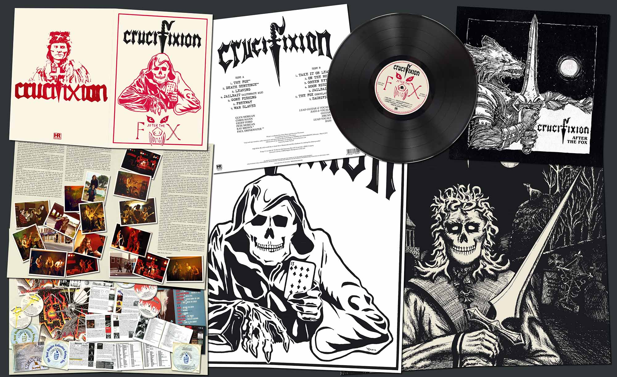 CRUCIFIXION - After the Fox LP