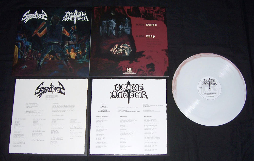 Speedtrap Death With A Dagger Split Lp