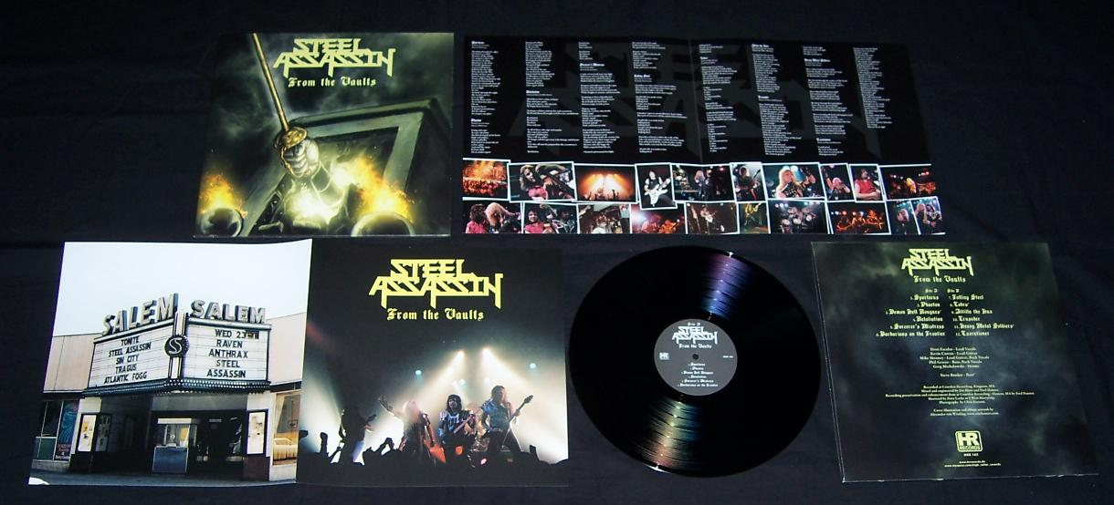 Steel Assassin From The Vaults Lp