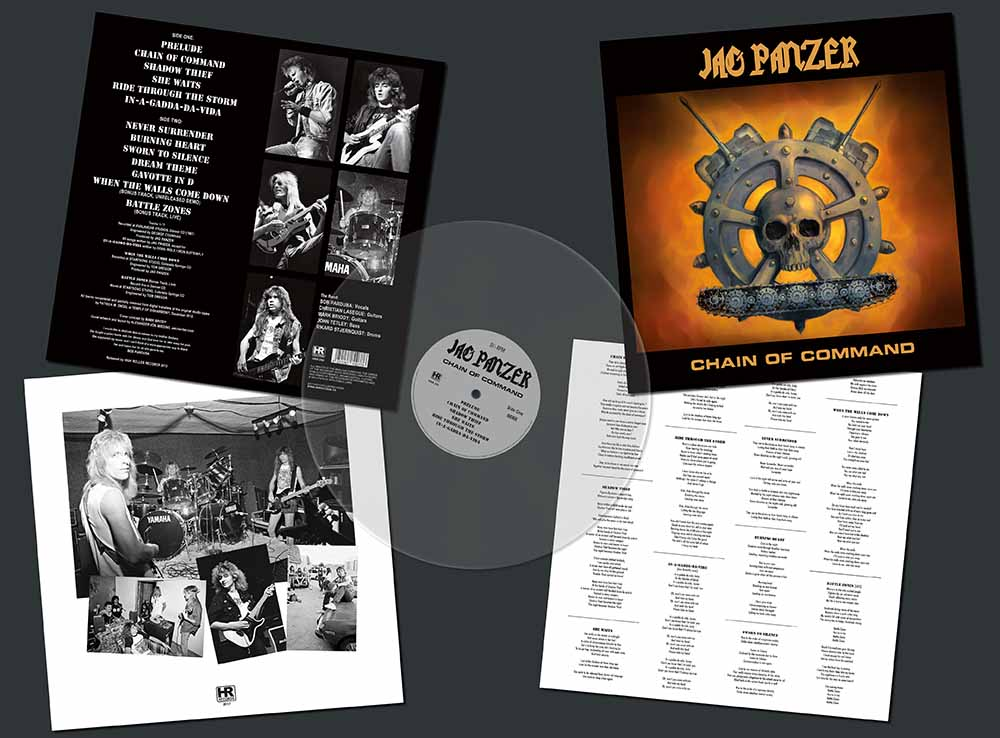 Jag Panzer Chain Of Command Lp