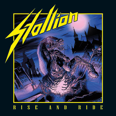 STALLION - Rise and Ride  CD