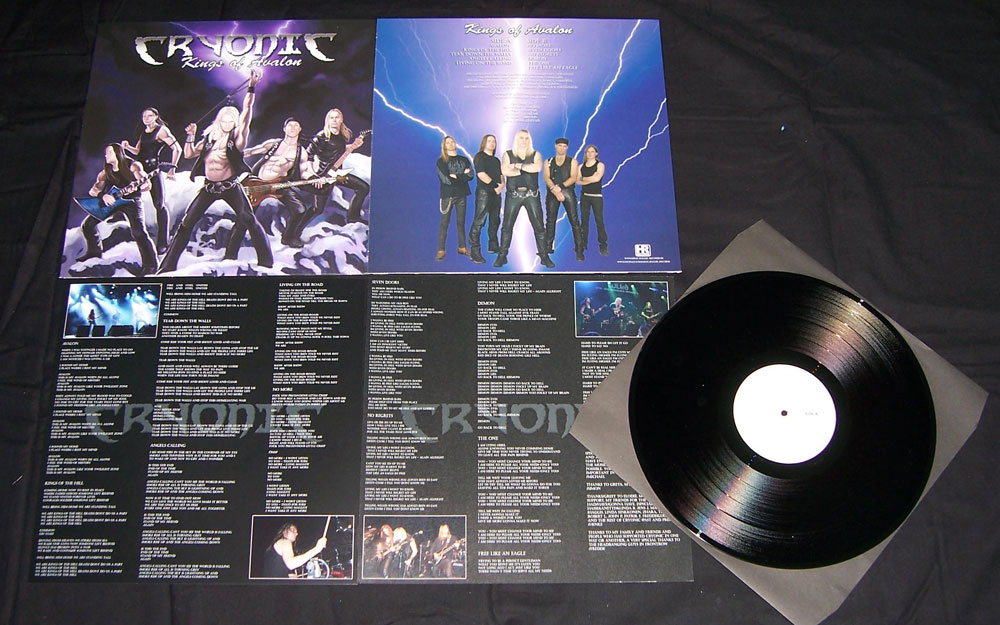 Heavy Metal Kings Splatter Vinyl Fat Beats Cryonic Kings